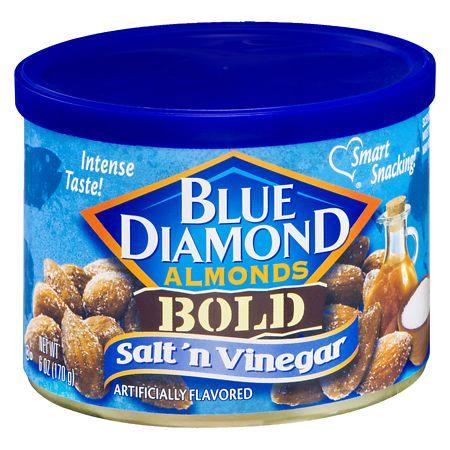 Blue Diamond Bold Almonds Salt 'n Vinegar - 6 oz.