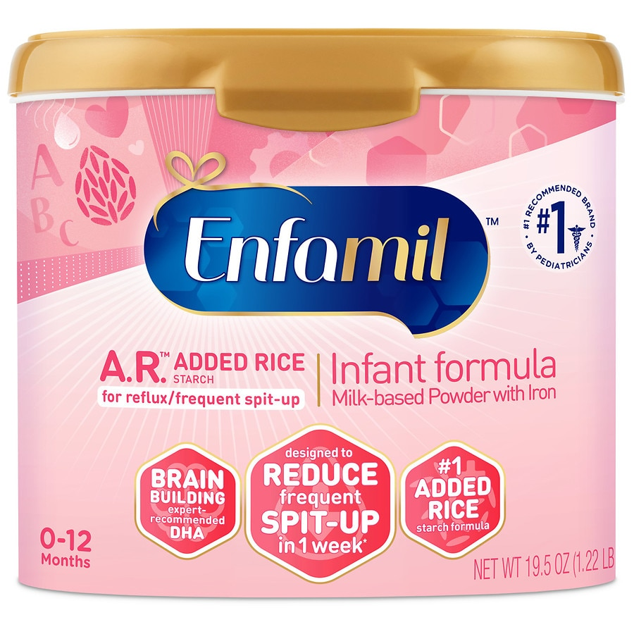 Enfamil a r infant formula for spit up makes 152 ounces walgreens