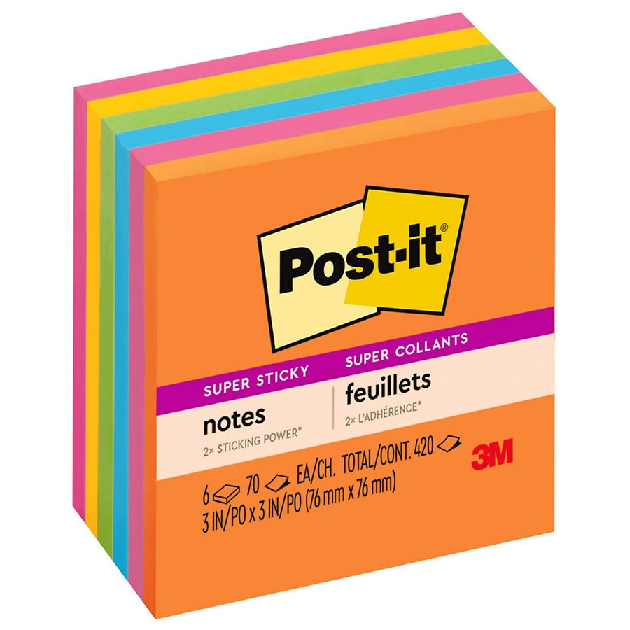 post it super sticky notes walgreens