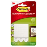 Command Strips Damage Free Hanging:  Picture, Frame & Poster Hanging Strips Medium White