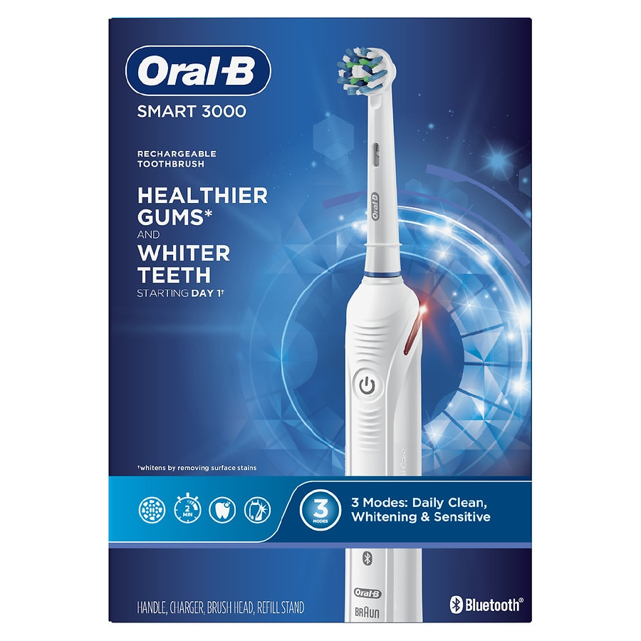Pro 3000 3D White Electric Toothbrush