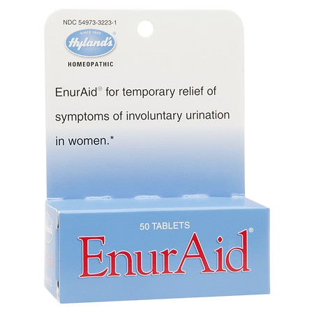 Hyland's EnurAid Incontinence Tablets - 50 ea