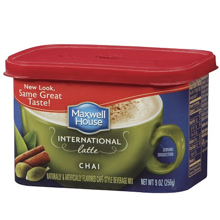 Maxwell House International Cafe Style Beverage Mix Chai Latte