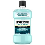Listerine Cool Mint Zero Alcohol Mouthwash Clean Mint