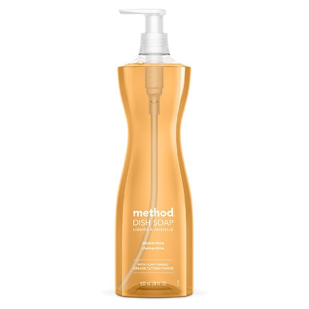 method Dish Soap Pump Clementine