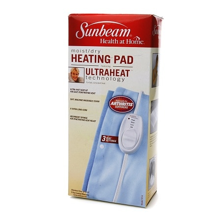 Sunbeam Moist/Dry Heating Pad, Model 731 - 1 ea