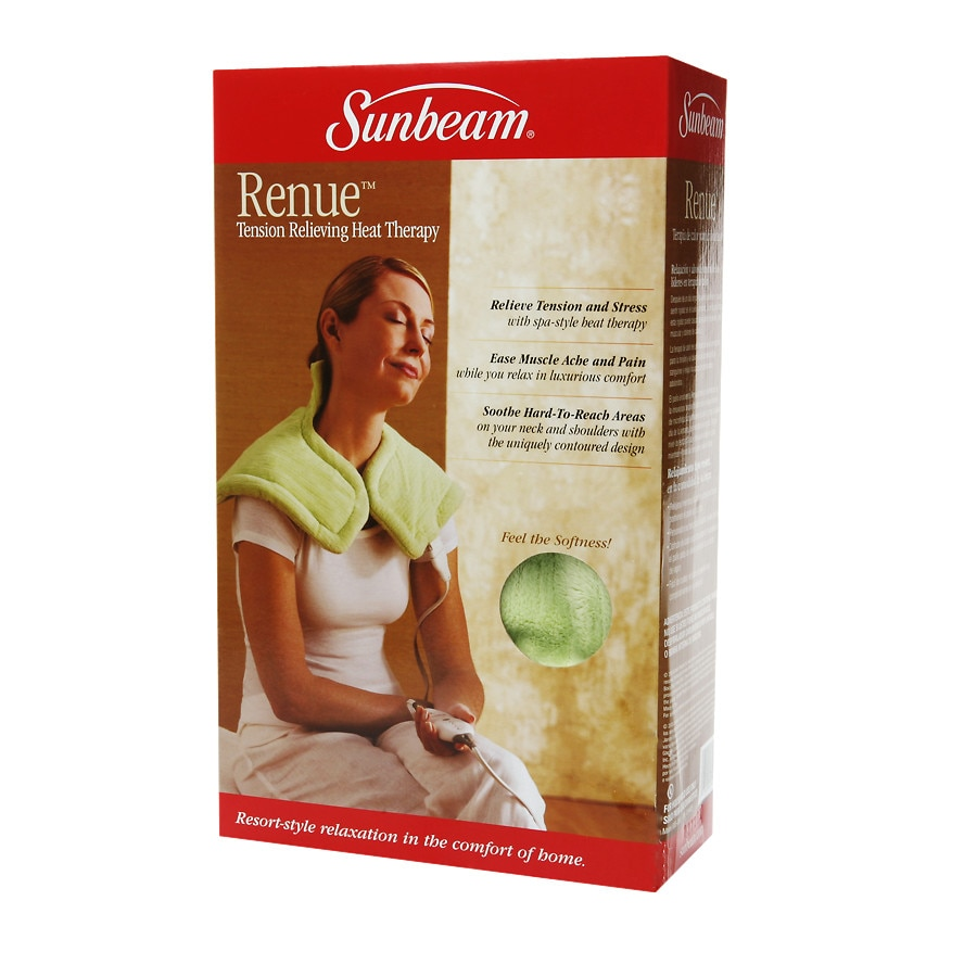 Sunbeam Renue Tension Relieving Heat Therapy Model 885 000 Walgreens