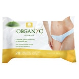 ORGANYC Organic Intimate Hygiene Wet Wipes
