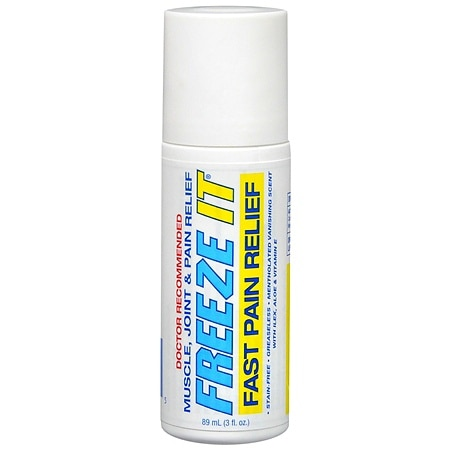 Freeze It Advanced Therapy Roll-On - 3.0 oz