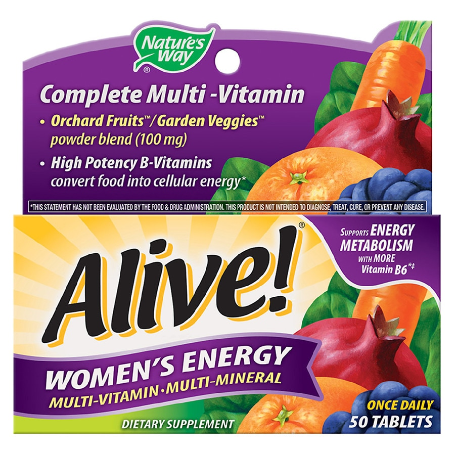 Nature S Way Alive Women S Energy Multivitamin