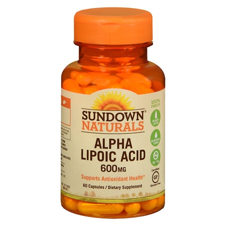 Sundown Naturals Super Alpha Lipoic Acid, 600mg, Capsules