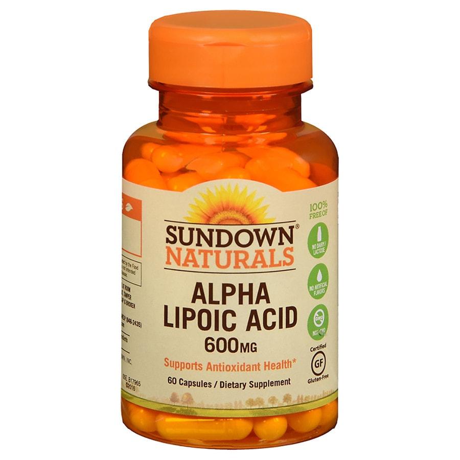 Sundown Naturals Products