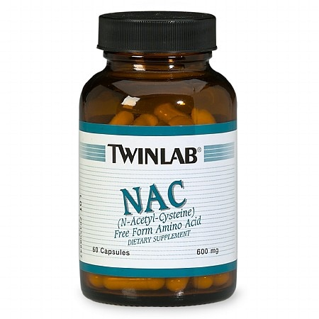 Twinlab NAC 600 mg Dietary Supplement Capsules - 60 ea