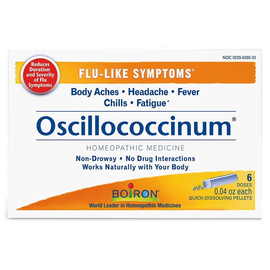 Boiron Oscillococcinum Homeopathic Flu Medicine Quick-Dissolving Pellets