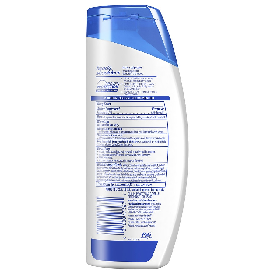 Head Shoulders Itchy Scalp Care With Eucalyptus Dandruff Shampoo Gieve Hair Conditioner Walgreens