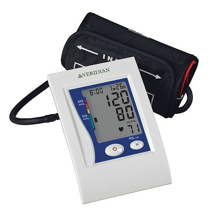 Veridian Healthcare Automatic Premium Digital Blood Pressure Arm Monitor Large