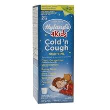 Hyland S Nighttime Cold N Cough 4 Kids Liquid Walgreens