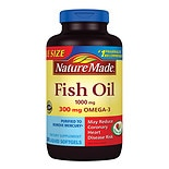 wag-Fish Oil 1000mg, 300mg Omega-3, Liquid Softgels