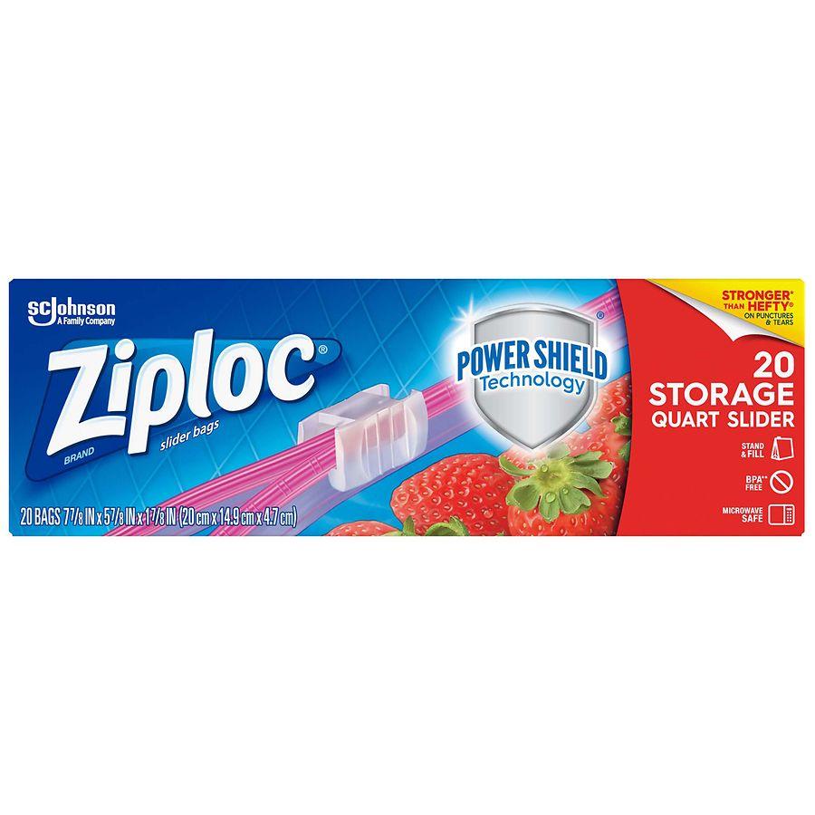 Ziploc Slider Storage Bags Walgreens
