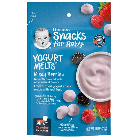 Gerber Graduates Yogurt Melts Mixed Berry