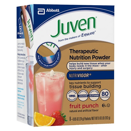 Juven Specialized Nutrition Powder Fruit Punch,8 pk