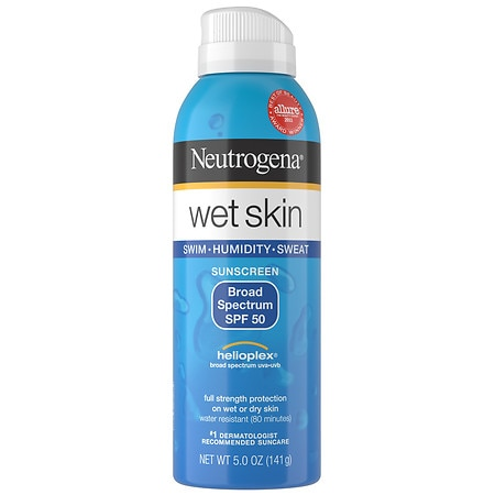 Neutrogena Wet Skin Sunblock Spray - 5 oz.