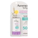 Aveeno Baby Sensitive Skin Facial Sunscreen Stick SPF 50