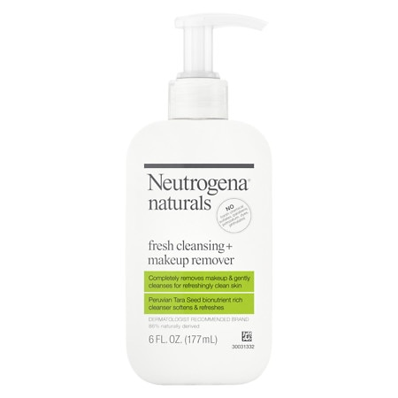 Neutrogena Naturals Fresh Cleansing + Makeup Remover - 6 fl oz