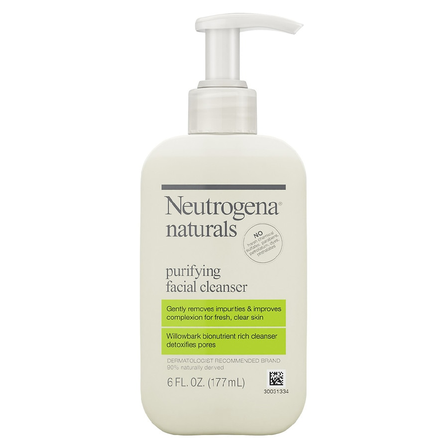 Neutrogena Naturals Purifying Face Wash With Salicylic Acid