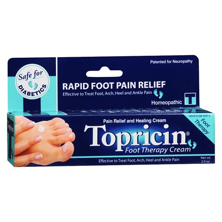 Topricin Foot Therapy Cream - 2 oz.