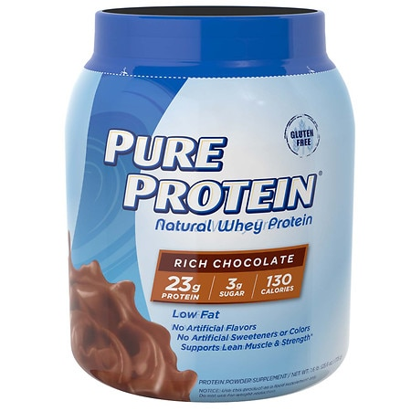 Pure Protein 100% Natural Whey Protein Rich Chocolate