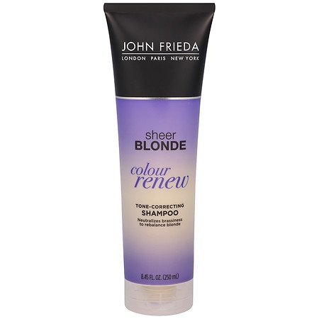 john frieda sheer blonde color renew tone correcting shampoo walgreens. Black Bedroom Furniture Sets. Home Design Ideas