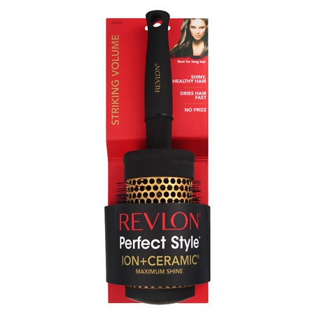 Revlon Perfect Style Ion + Ceramic Brush Large Round