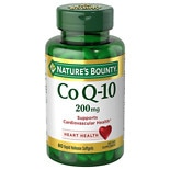 Nature's Bounty Extra Strength Co Q-10 200 mg Rapid Release Liquid Softgels