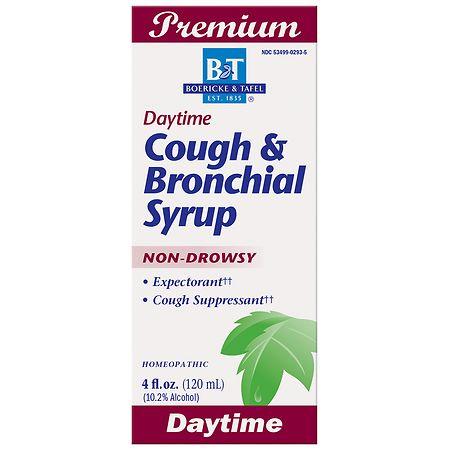 Boericke & Tafel Daytime Cough & Bronchial Syrup Cough Suppressant & Expectorant - 4 fl oz