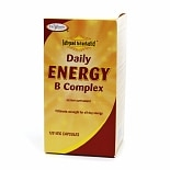 Enzymatic Therapy Daily Energy B Complex, Vegetarian Capsules