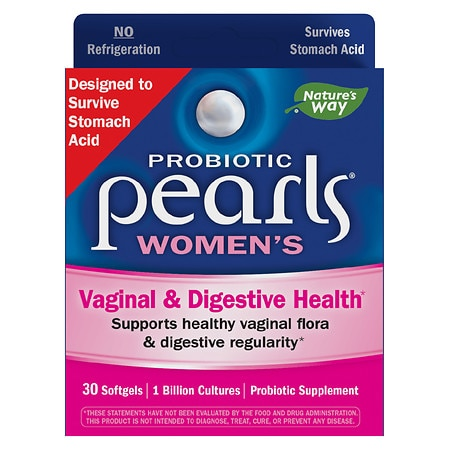Enzymatic Therapy Pearls YB Yeast-Balancing Probiotics, Capsules