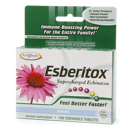 Enzymatic Therapy Esberitox, Chewable Tablets