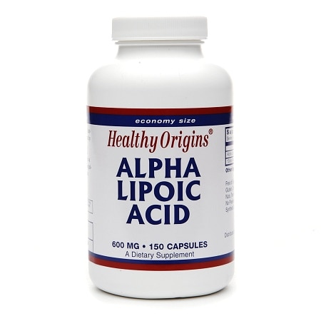 Healthy Origins Alpha Lipoic Acid, 600mg, Capsules