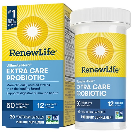 ReNew Life Ultimate Flora Critical Care 50 Billion Dietary Supplement Vegetable Capsules
