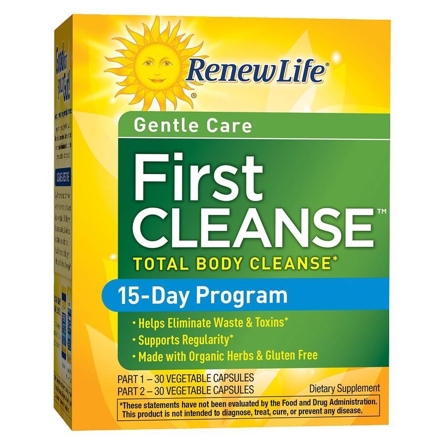 Cleanse walgreens renew life first cleanse dietary supplement capsules malvernweather Gallery