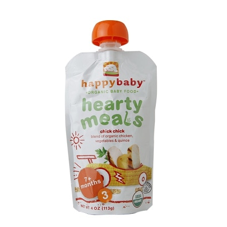 Happy Baby Organic Baby Food: Stage 3 / Meals, 7+ months Chick Chick - 4 oz.