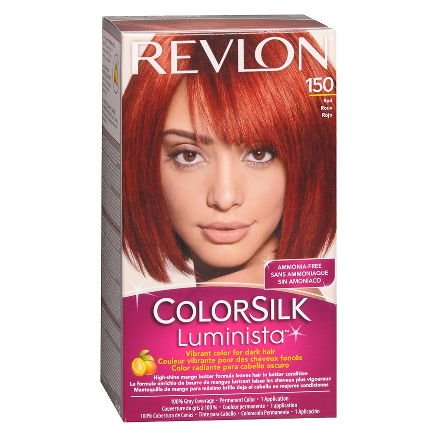 Revlon Colorsilk Luminista Vibrant Color For Dark Hairred 150