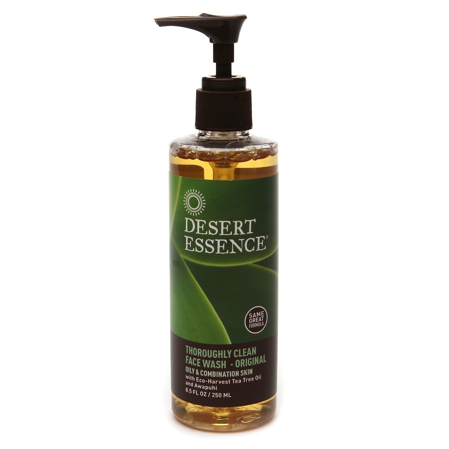 Desert Essence Thoroughly Clean Face Wash With Organic Tea Tree Oil