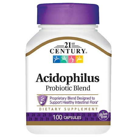Image of 21st Century Acidophilus, High-Potency, Capsules - 150 ea