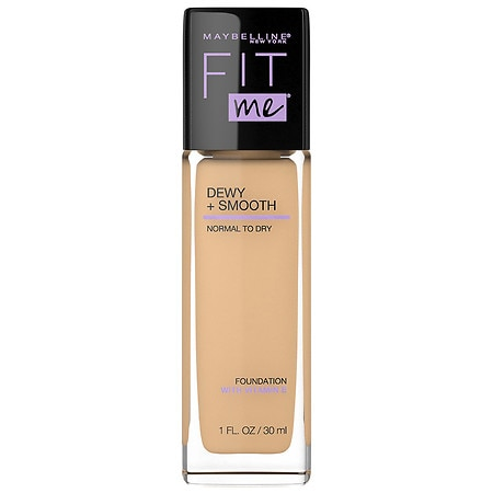Maybelline Fit Me Dewy + Smooth Foundation Makeup - 1 fl oz