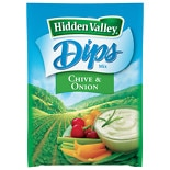 Hidden Valley Dips Mix Chive & Onion