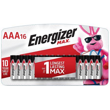 Energizer Max Alkaline Batteries Aaa Aaa