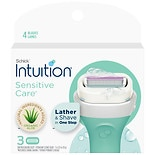Schick Intuition Naturals Sensitive Care Razor Cartridges