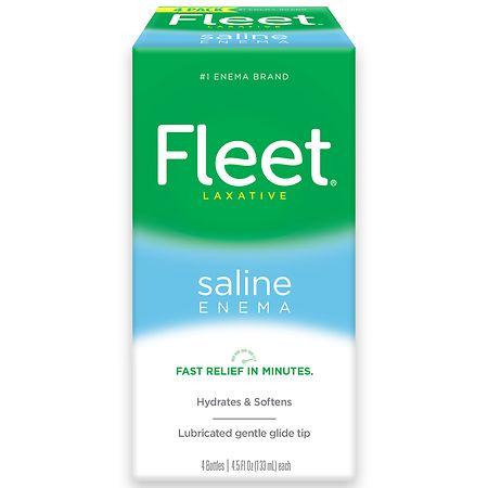 Fleet Saline Enema Laxative Walgreens